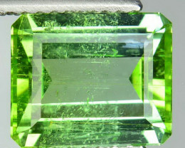 2.89 Cts Natural Green Tourmaline Octagon Mozambique