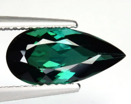 2.32 Cts Natural Bluish Green Tourmaline Brazil