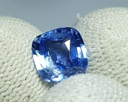 CERTIFIED 2.03 CTS NATURAL STUNNING CORNFLOWER BLUE SAPPHIRE FROM SRI LANKA