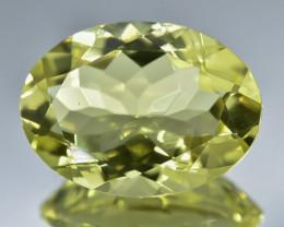 10.14 Crt Natural Lemon Quartz Faceted Gemstone.( AB 07)
