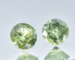0.25 Crt Natural Demantiod Garnet Faceted Gemstone.( AB 07)