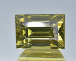 2.25 Crt Natural Zircon Faceted Gemstone.( AB 07)