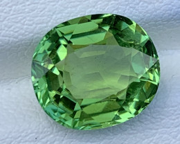 Mint Apple Green 4.82 Carats Natural Color Gemstone From AFGHANISTAN