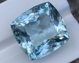 36.40 Carats Aquamarine Gemstones