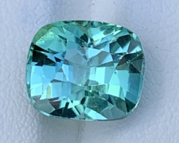5.36 Carats Natural Color Tourmaline Gemstone From AFGHANISTAN
