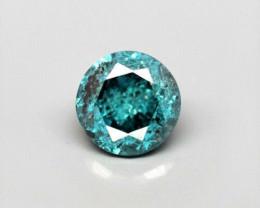 NO RESERVE - Fancy Blue Diamond - 0.09 cts - Africa