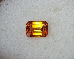 1,10ct Orange Sphalerite - high dispersion gemstone!