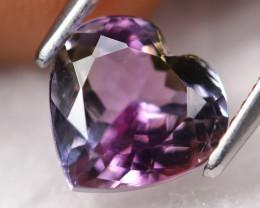 2.23ct Natural Tri Color Tanzanite Heart Cut Lot GW7011