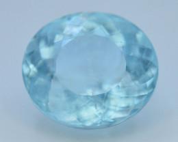 GIL ~ Certified 8.30 ct Natural Untreated Aquamarine