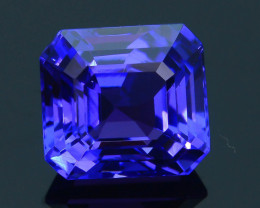 AAA Grade 3.72 ct Tanzanite eye catching Color SKU.21