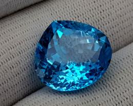 24.25CT BLUE TOPAZ BEST QUALITY GEMSTONE IIGC81