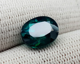4.75CT GREEN TOPAZ COATED BEST QUALITY GEMSTONE IIGC81
