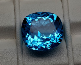 15.55Crt Blue Topaz  Natural Gemstones JI69