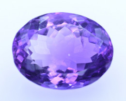 9.20 Cts Amazing Amethyst Brilliant Cut and Color - AMT33