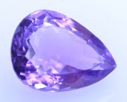 9.66 Cts Amazing Amethyst Brilliant Cut and Color - AMT36