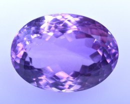 12.22 Cts Amazing Amethyst Brilliant Cut and Color - AMT37