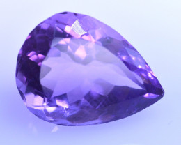 9.33 Cts Amazing Amethyst Brilliant Cut and Color - AMT38