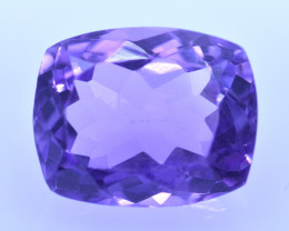 8.99 Cts Amazing Amethyst Brilliant Cut and Color - AMT39