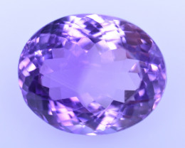 10.06 Cts Amazing Amethyst Brilliant Cut and Color - AMT42