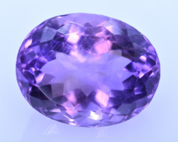 7.63 Cts Amazing Amethyst Brilliant Cut and Color - AMT44