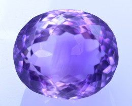 11.09 Cts Amazing Amethyst Brilliant Cut and Color - AMT45