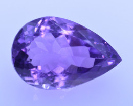 9.36 Cts Amazing Amethyst Brilliant Cut and Color - AMT49