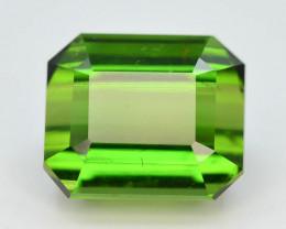 Top Grade 6.80 ct Natural Green Color Tourmaline