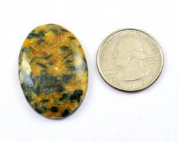 Genuine 46.00 Cts Forest Agate Cabochon