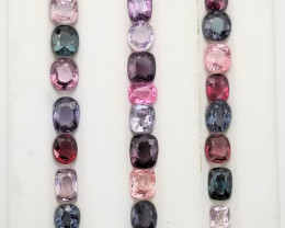 Burma Spinals Awesome lot 31.30 ct