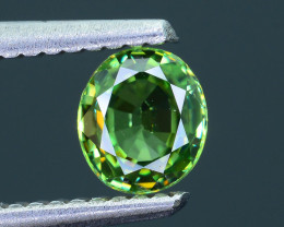 Demantoid Garnet AAA Clarity 0.76 ct Nigeria SKU.8