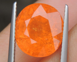 "10.62cts ""Neon"" Glowing Orange Garnet,  Calibrated size"