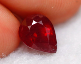 Ruby 1.91Ct Madagascar Blood Red Ruby D0625