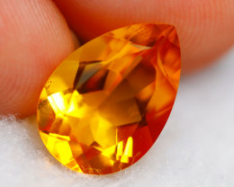 Citrine 3.67Ct Natural Yellow Color Citrine D0627