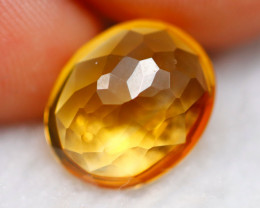 Citrine 3.31Ct Natural Yellow Color Citrine D0628