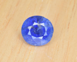 Natural Corn Flower Blue Sapphire 2.68 Cts from Afghanistan