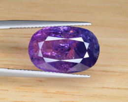 Natural Bi Color Sapphire 9.14 Cts from Afghanistan