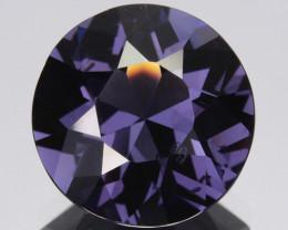 3.74 Cts Sparkling Natural Spinel Purple Round Srilanka Gem