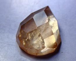 25.80 CT Natural & Unheated Orange Brown Topaz Gemstone