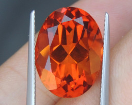"12.66cts   ""Crayola Orange"" Citrine"