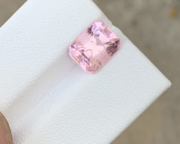 3.35 carats baby Pink colour Tourmaline Gemstone From