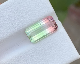 4.25 Carats watermelon/Bi-colour Tourmaline Gemstone From Afghanistan