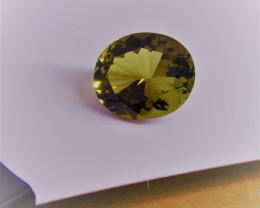 Tourmaline  Dravite Gemstone  Large size 14 . 91 cts