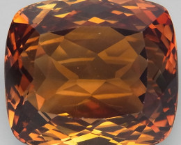 17.52  ct. Top Quality 100% Natural Topaz Orangey Brown Brazil