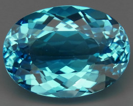 20.67  ct. 100% Natural Top Quality  Sky Blue Topaz Brazil