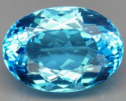 26.74 ct. 100% Natural Top Quality Sky Blue Topaz Brazil