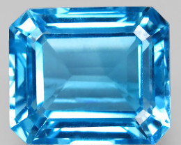 22.46 ct. Natural Earth Mined Top Quality Sky Blue Topaz Brazil