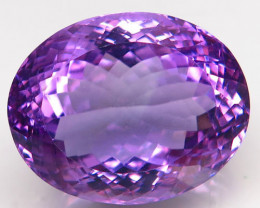 18.45Ct. Natural Rich Purple Amethyst Uruguay  Attractive Unheated
