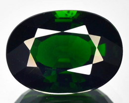 1.41 Cts Beautiful Luster Chrome Green Tourmaline Mozambique Gem