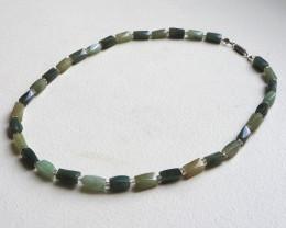 Natural Jadeite beads necklace