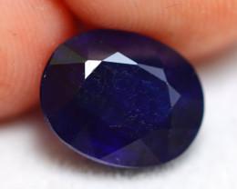 Ceylon Sapphire 3.54Ct Royal Blue Sapphire E0717